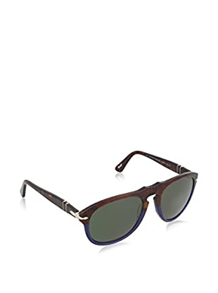 Persol Occhiali da sole Polarized 649 102258 (54 mm) Avana/Blu