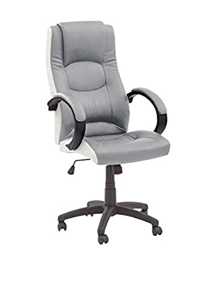 Global Trade Silla De Oficina Mosca Gris/Blanco