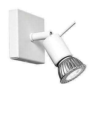 Linea Light Wand- und Deckenlampe Spotty 1 weiß