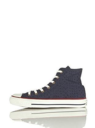 Converse Zapatillas All Star Hi Canvas Graphics (Azul)