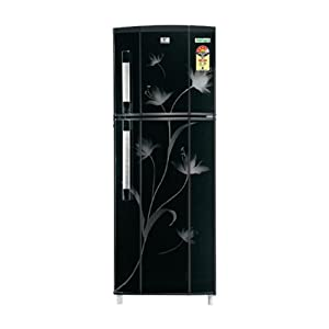 Videocon 300L 4 Star VCL314B Double Door Refrigerator-Black