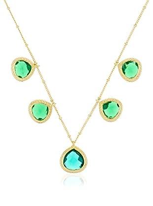 Coralia Leets Halskette  grün