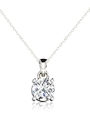 Friendly Diamonds Set catenina e pendente FDP6257W Oro Bianco