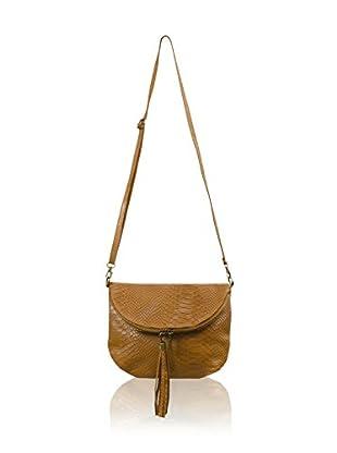 Carla Belotti Bandolera Handbag Sandy Camel