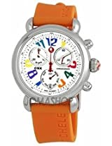 Michele Csx 36 Carousel Orange Silicon Ladies Watch Mww03M000087