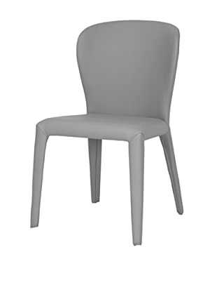 Star International Set of 2 Opal Dining Chairs, Light Grey