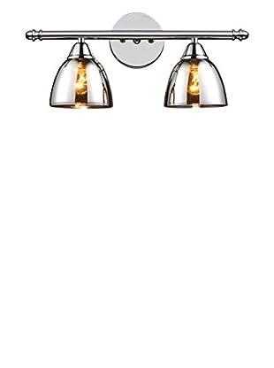 Artistic Lighting Reflections 2-Light Bath Bar, Polished Chrome