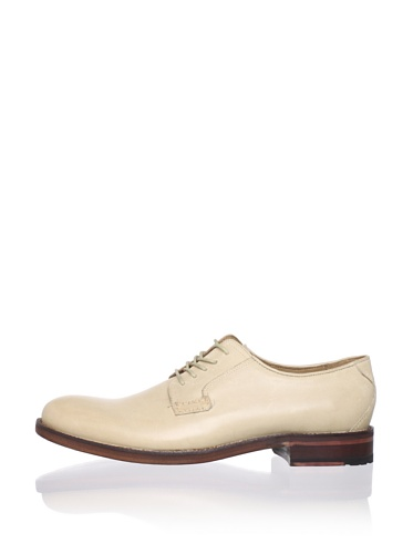Ben Sherman Men's Qwey Plain Toe Oxford (Off-White)