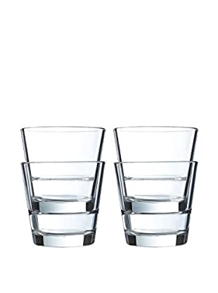 Arc International Set of 4 Stack Up 7-Oz. Juice Glasses