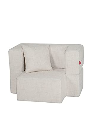 Best seller living Sillón Puff Mini Tiramisu Hielo