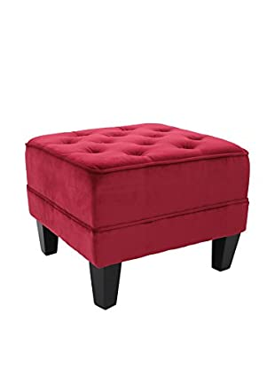Premier Houseware  Pouf 2402953 rot