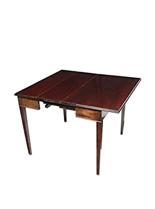 Mahogany Drop Leaf Dining Table, Brown