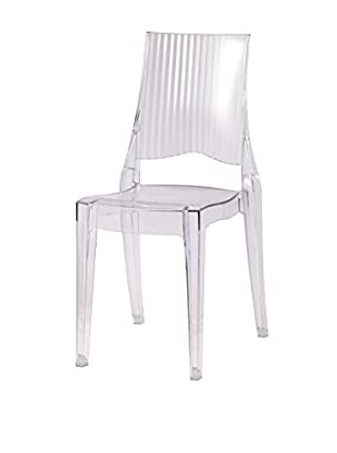 Manhattan Living Tolta Dining Side Chair, Clear