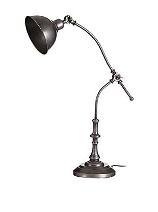Tischlampe silber