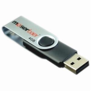 Moserbaer 4GB Pendrive