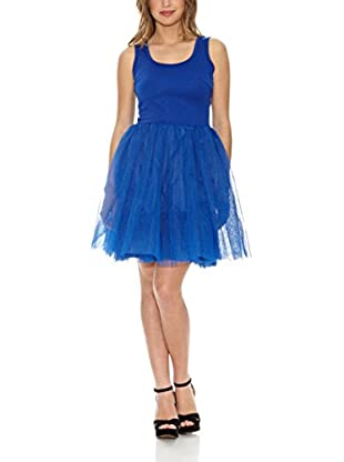 Rare London Kleid Jersey Bodice Net Pro