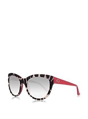 Guess Sonnenbrille GU7429 5674B (56 mm) schwarz/elfenbein