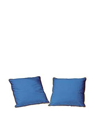 Unokids Kissen 2er Set Bicolor B13 blau