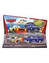Mattel V2834 Disney / Pixar CARS 2 Movie 155 Die Cast Car (2 Pack) Brent Mustangburger Darrel Cartrip