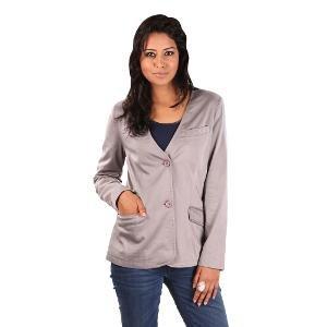 Ladybug Women's Jacket - Grey