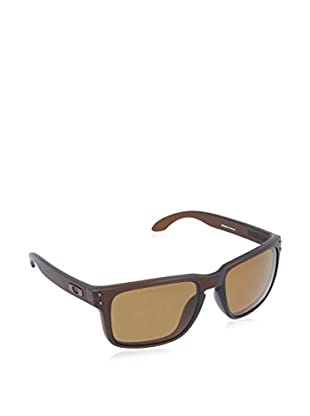 Oakley Occhiali da sole Polarized Mod. 9102 910203 (55 mm) Marrone