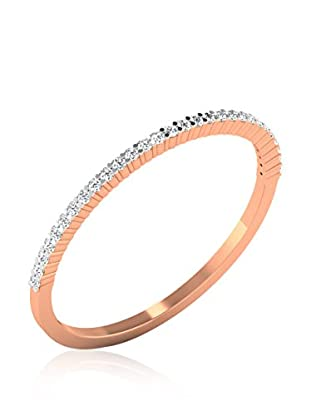 Friendly Diamonds Anillo FDPXR7406R Oro Rosa 9 (DE 49)