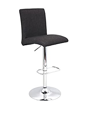 LumiSource Tintori Bar Stool, Charcoal