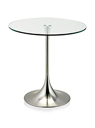 Adesso Coronet Accent Table (Silver)