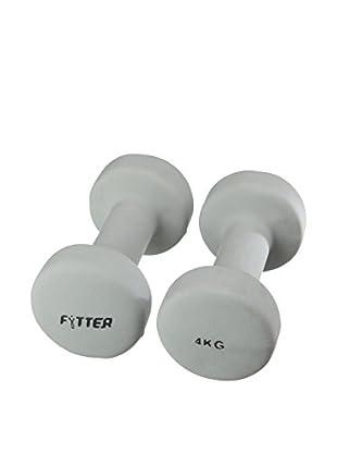 Fytter Fitness Hantel 4Kg Aeb04B grau
