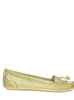 Giceri Zapatos Floral (Verde)