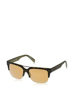 ITALIA INDEPENDENT Sonnenbrille 0918-140-53 (53 mm) grün/schwarz