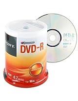 Sony DVD-R Media 100 Packs