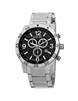 August Steiner Black Mens Watch As8097Ssb