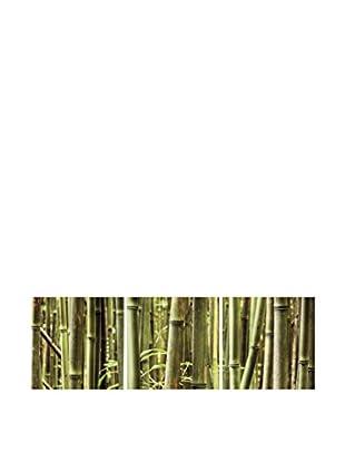 LO+DEMODA Leinwandbild 3 tlg. Set Green Bambo