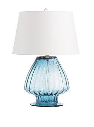 Arteriors Home Herchel Lamp, Blue/White
