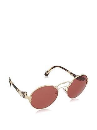 Prada Gafas de Sol 55TSSUN_ZVN6N0 (57 mm) Dorado / Plateado