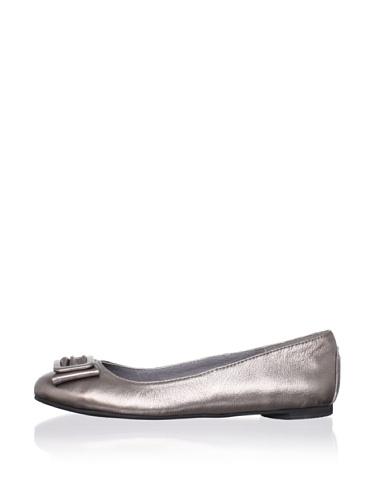 J. Loren Kid's Mindi Dress Shoe (Pewter)
