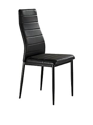 Contemporary Living Stuhl 4er Set Camaro schwarz