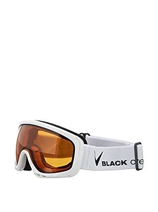 Black Crevice Skibrille weiß/schwarz