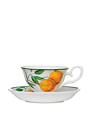 Premier Interior Taza De Café con Plato Orange Grove