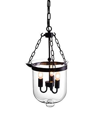 Zuo Masterton Ceiling Lamp, Distressed Black