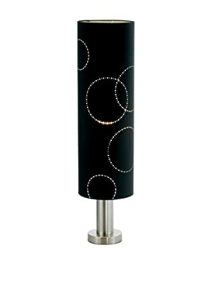 Adesso Solaris Table Lamp, Black