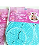 Madcaps The Party Shop 3 Tier Cupcake Stand