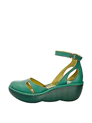 Fly London Zapatos Bessie (Verde)