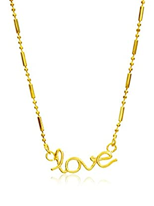 My Silver Gargantilla Basic Love Oro