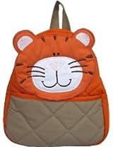 Little Pipal Jungle Collection Tiger Toddler Backpack, Orange