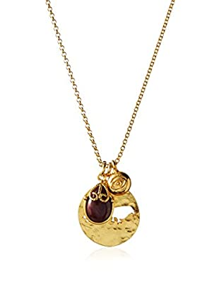 Wendy Mink Ruby Pendant Charm Necklace