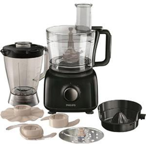 Philips HR7629 Food Processor - Black