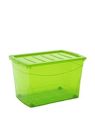 Kis Set Caja de Almacenamiento 4 Uds. Omnibox Xl Verde