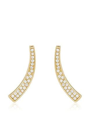 ANDREA BELLINI Ohrringe Magic Unicorn vergoldetes Silber 925